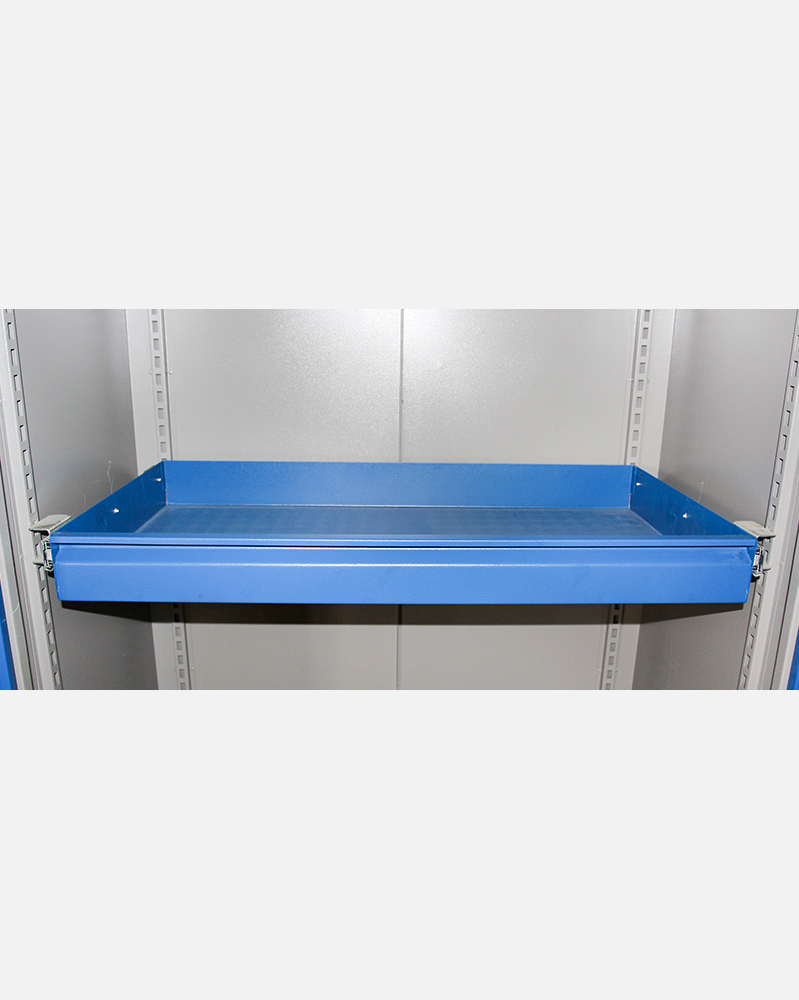 1 Telescopic Drawer in Tool Cabinet