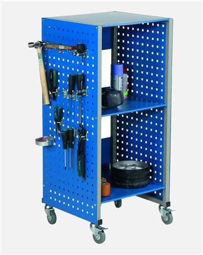 Perforated Trolley, Excluding Desk