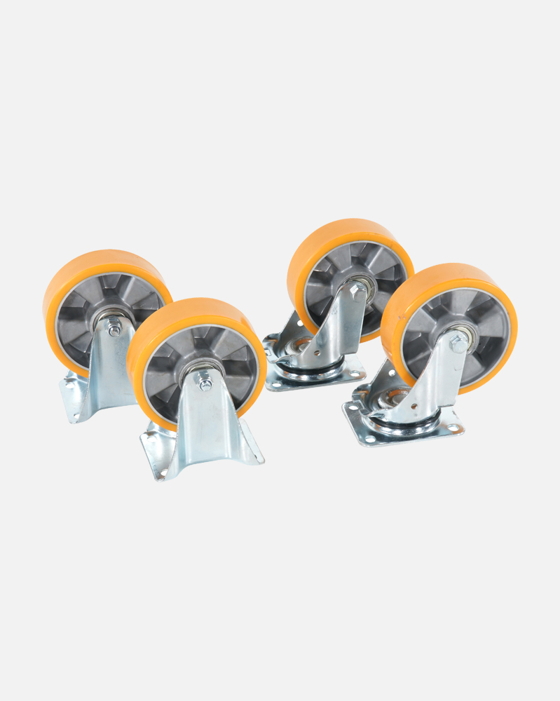 NYP 160 4 Set of Poly Wheel 160 mm