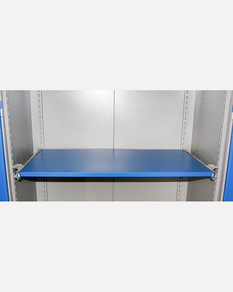 1 Telescopic Shelf in Tool Cabinet